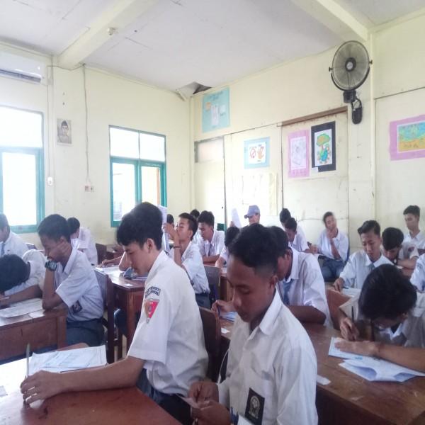 Pelaksanaan Ujian Penilaian Akhir Semester Tahun Ajaran 2019-2020