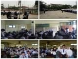 Hari Pertama Penerimaan Siswa Baru di SMK GRAFIKA KOTA TANGERANG 2017