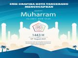 SMK GRAFIKA TANGERANG MENGUCAPKAN SELAMAT TAHUN BARU ISLAM 1443 H